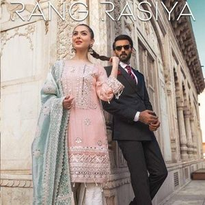 Rangrasiya wedding wear pakistani indian dress